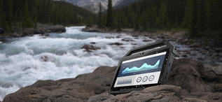 Rugged Tablet Water
