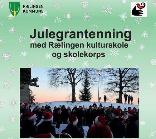 Julegrantenning desember 2019