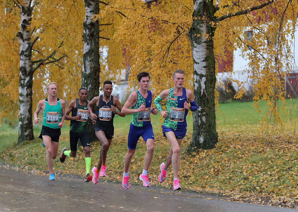 Bare de raskeste vil få anledning til å løpe Hytteplanmila i år. (Foto: Ole Arne Schlytter)