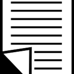 Illustrasjonsbilde av dokumentikon