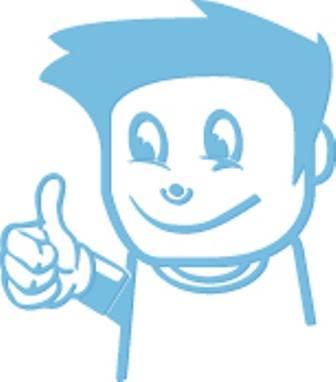 Tommel opp - Rakkestad Idrettsråd Logo