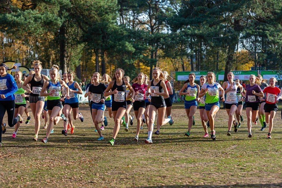 Fra årets Warandeloop i Tilburg som går med terrengløp en hel helg og med de internasjonale løpene på søndag (Arrangørfoto).