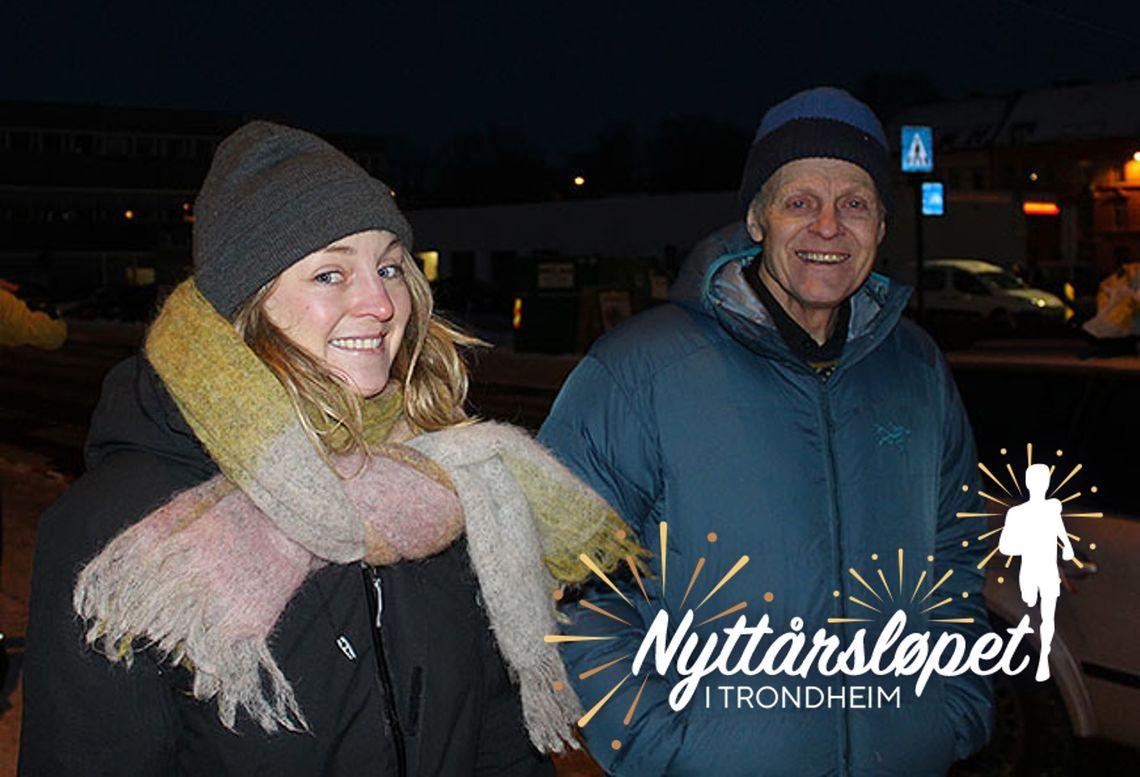 Ingrid og Harald Fløgstad etter løpet i 2018. Da etterlyste de noen som kunne overta etter det 50. arrangementet året etter, og nå er nye arrangører på plass. (Foto: Kristine Eid)