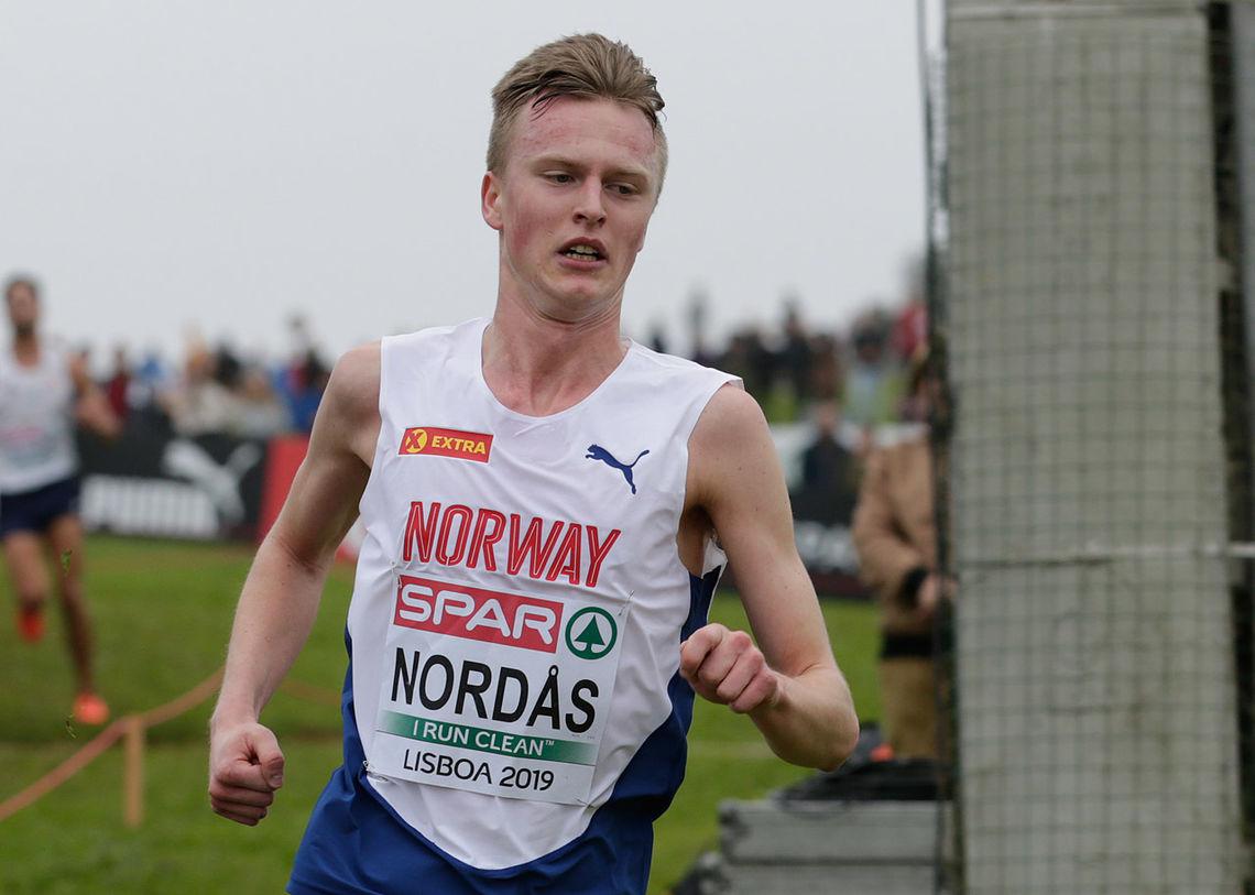 Narve Gilje Nordås ble beste norske U23-løper med 19. plass. (Foto: Per Inge Østmoen)