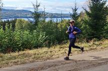 Ultraløperen: Cathrine liker å teste kroppen og se hva den kan klare. Derfor løper hun gjerne langt og stadig lengre(Foto: Privat)
