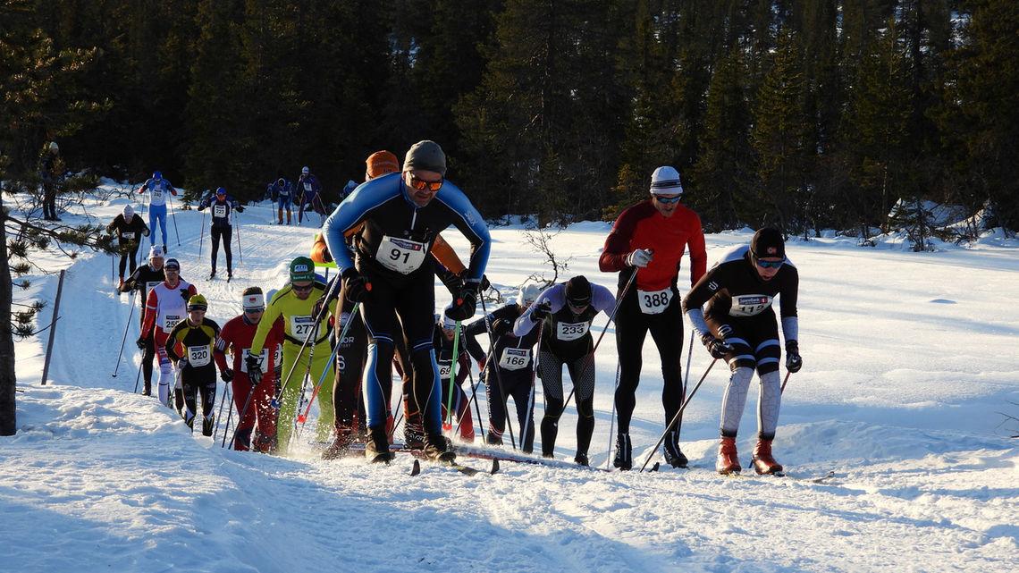 Budorrennet er ett av mange renn du finner reportasje fra på kondis.no. (Foto: Stein Arne Negård)