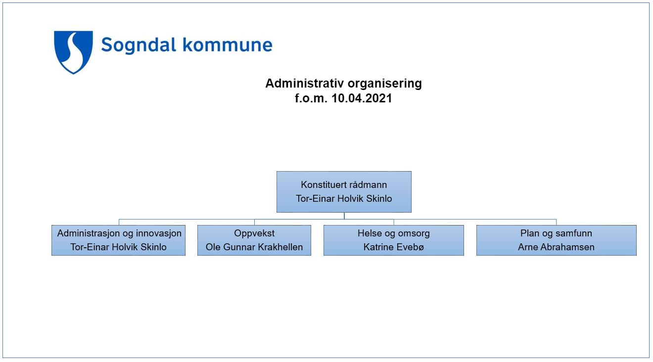 Administrativ organisering rådmann