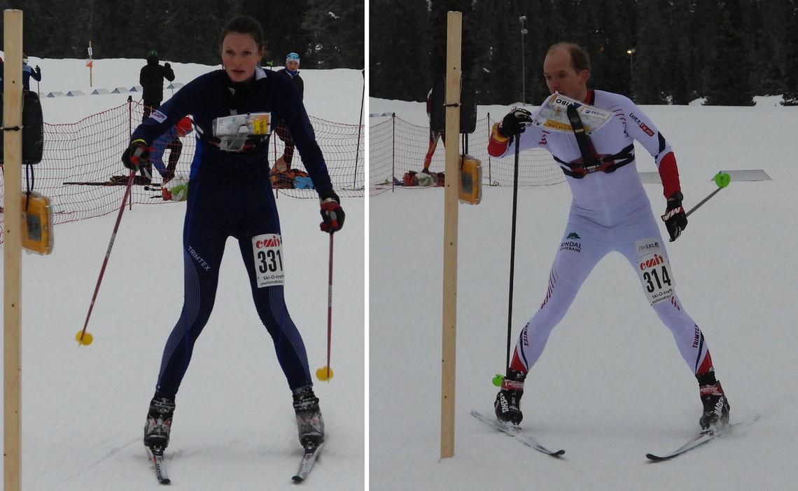 Anna Ulvensøen og Lars Hol Moholdt (Foto: Stein Arne Negård)