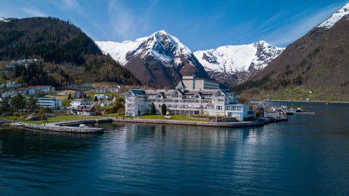 Kviknes Hotel i Balestrand.