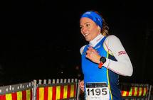 Siren Rosenlund ble beste kvinne i 5 km-løypen