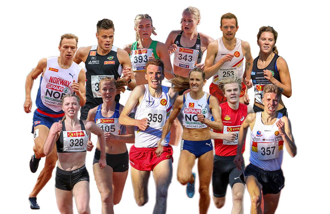 Kondis tror mange av disse vil ta NM-medaljer i helgen