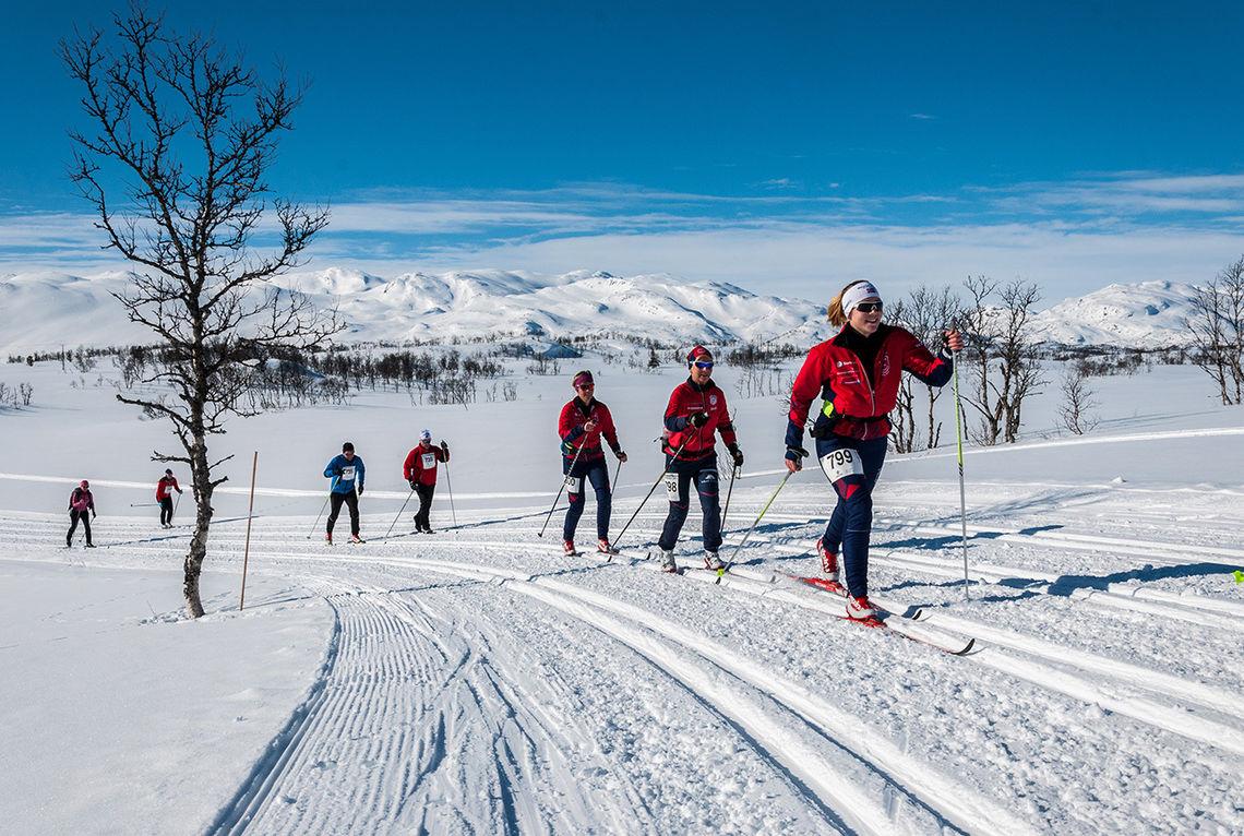 Telemarkhelten er ett av mange renn du vil finne reportasje fra på kondis.no. (Foto: arrangøren)