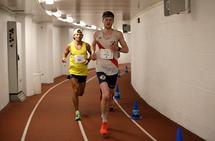 Magnus Erstad løp inn til en klar seier på Bisletts 50-kilometer. (Foto:Per Inge Østmoen)