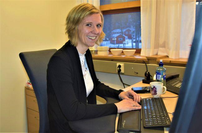 Elisabeth Vuttudal er koordinator for lærlingordningen i Orkland kommune