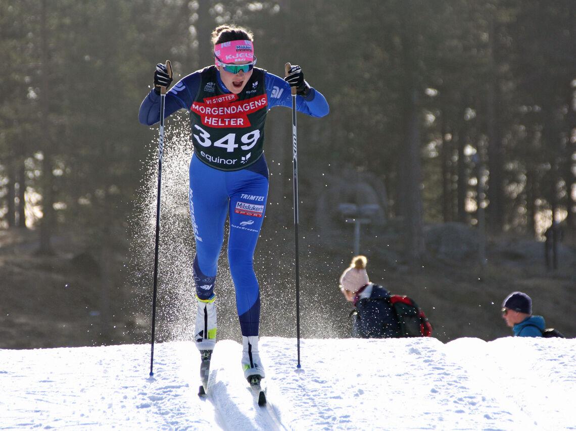 Runa Ulvang, en av 5 uttatte løpere fra Kjelsås.