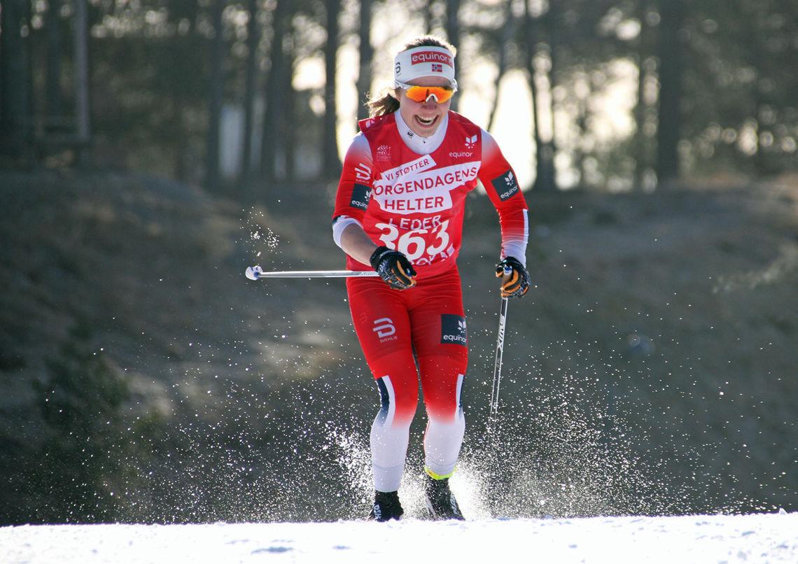 Helene Marie Fossesholm suveren 14 dager før junior-VM.