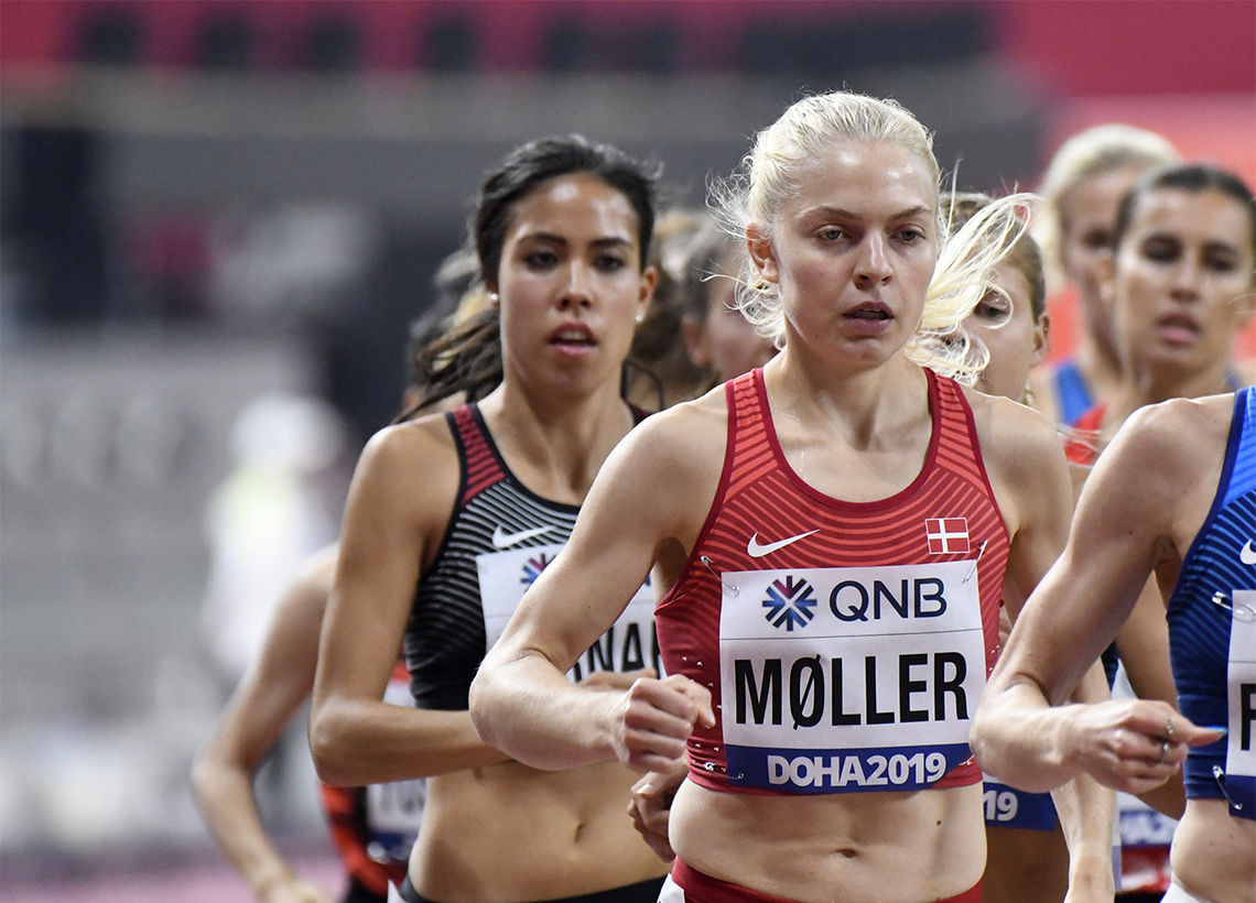 Danske Anna Emilie Møller har starta 2020 like godt som hun avslutta 2019. (Arkivfoto: Bjørn Johannessen)