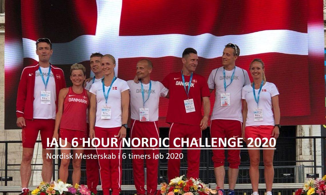 Toppbildet på arrangørens hjemmeside viser det danske landsholdet i ultraløp 2018. Foreløpig savner de konkurrenter i Nordisk mesterskap på 6-timers. (Arrangørfoto)