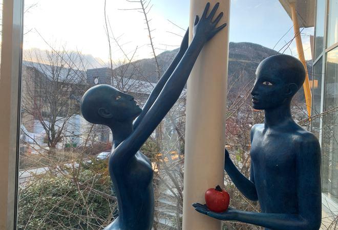 Sogndal kulturhus. (Foto: Mariann Skau)