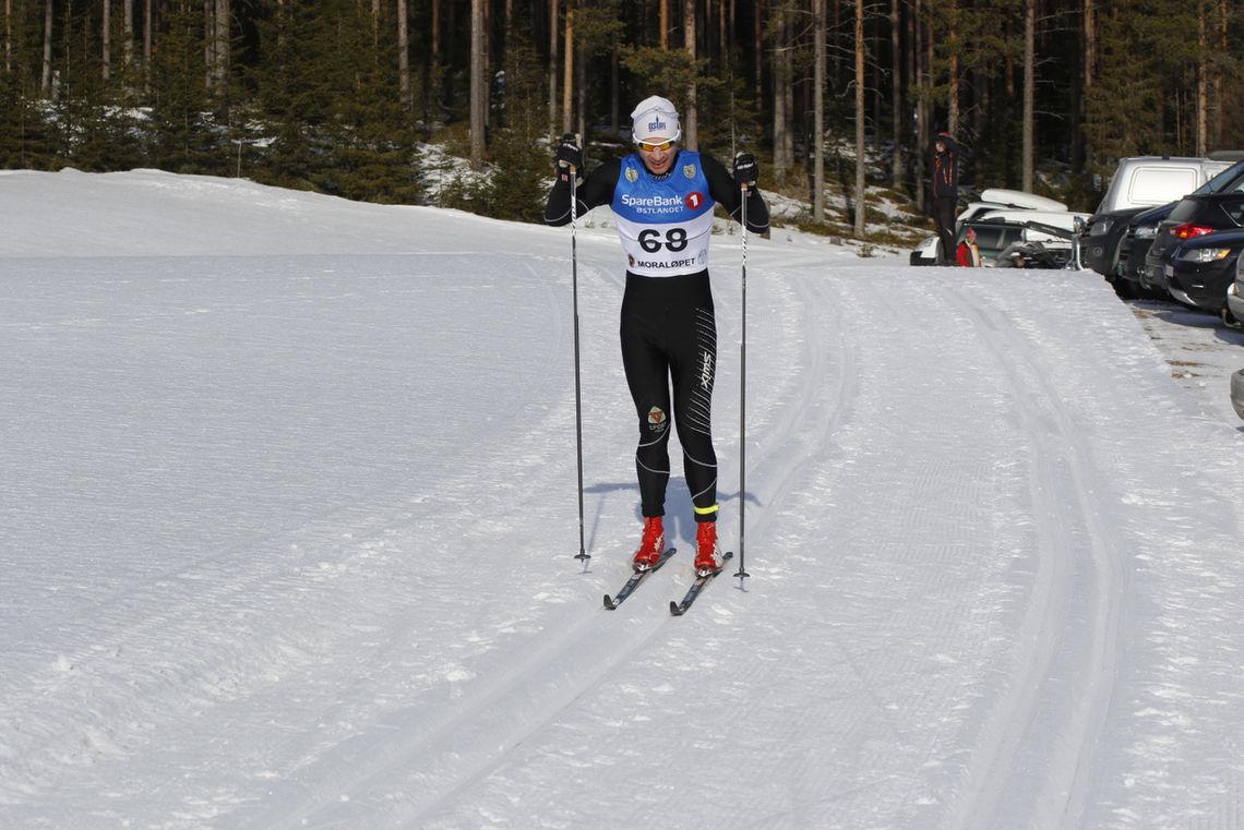 John Christian Deighan Hanssen, som vant alle Moraløp mellom 2011 og 2019, mot mål i 2020. (Foto: Jan Erik Bakken)