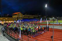 Start og mål i Necon Vinterkarusell er inne på Fana Stadion