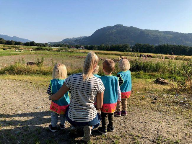 Barnehagen på tur