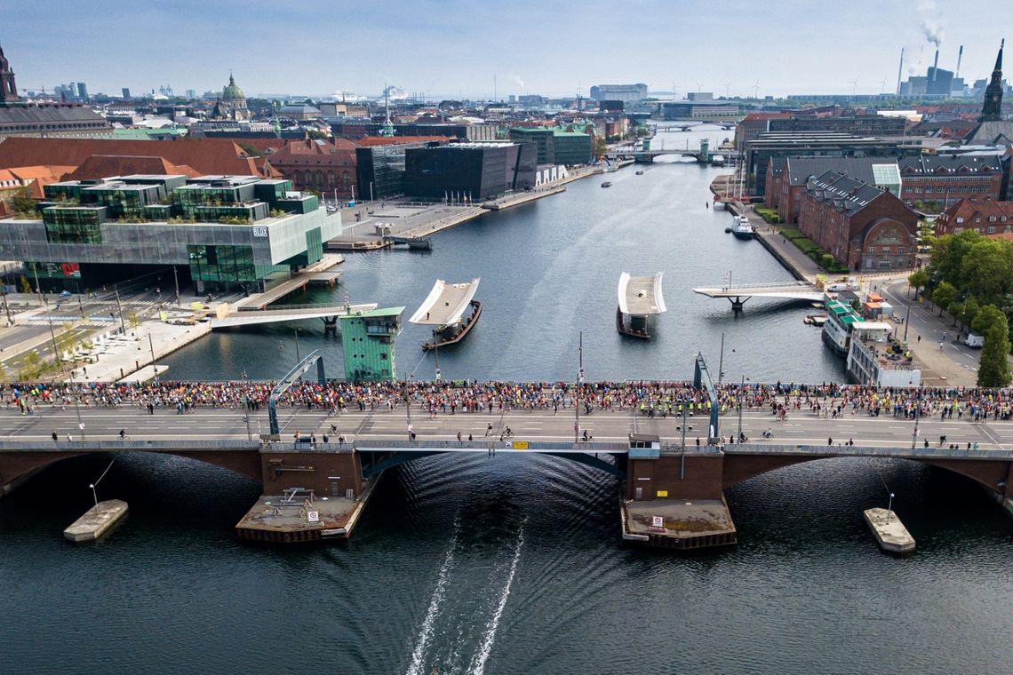 Fra fjorårets maraton i København. (Foto: Camilla Hylleberg)