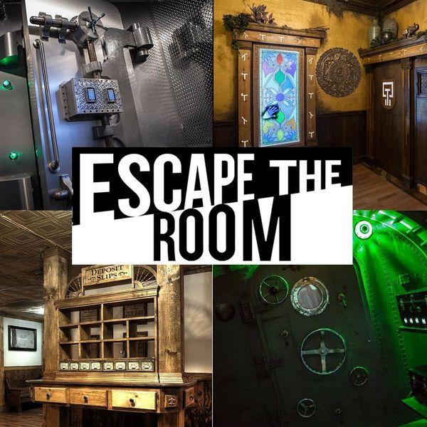Illustrasjon escape-room