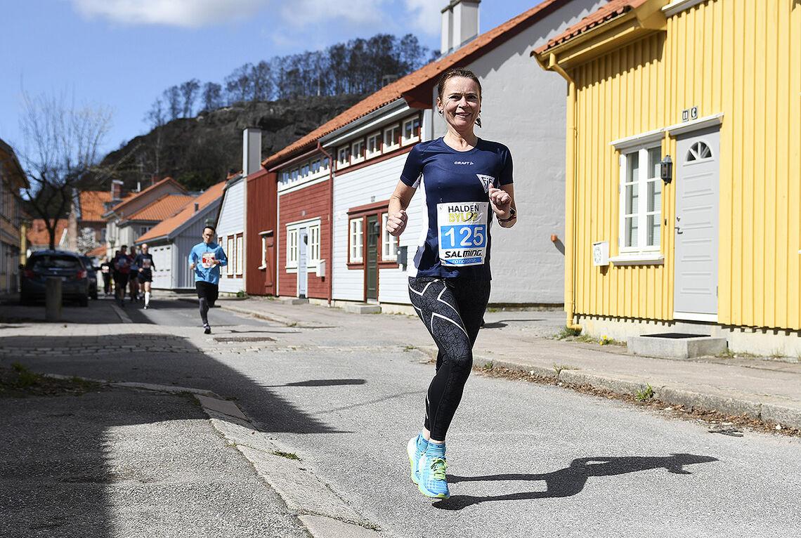 Halden Byløp blir i år i en utgave der man løper når man selv ønsker det innen 7. juni. (Foto: Bjørn Johannessen)