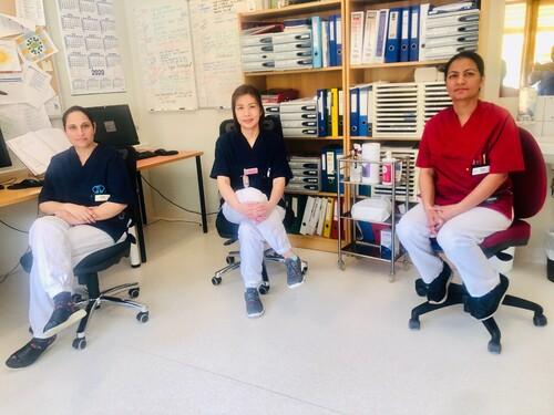 Sykepleiere ved Løvenstadtunet