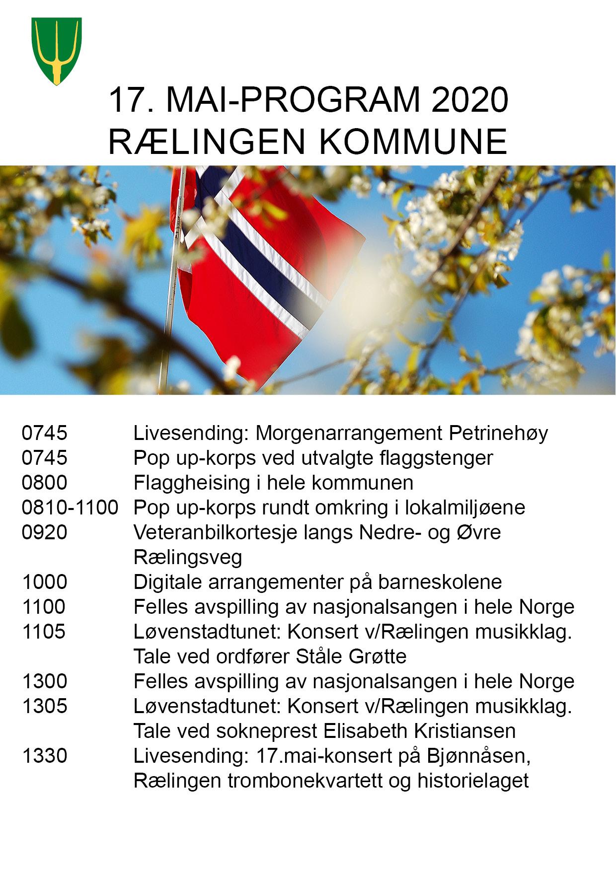 Program 17. mai 2020