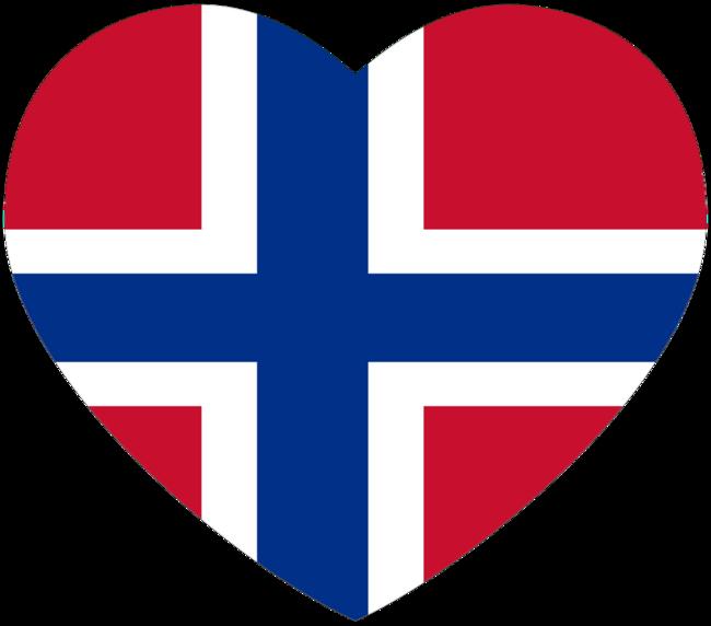 hjerteflagg