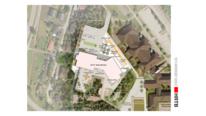 Skole utendørs skisse HRTB Arkitekter
