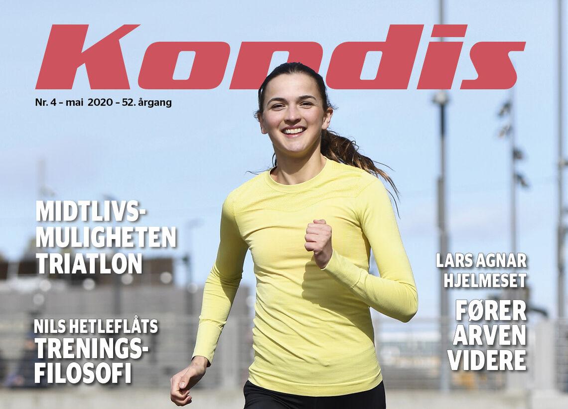 Sjøl om Sigrid Jervell Våg setter løpegleden i høysetet, så trener hun samtidig for å bli en så god løper som mulig. (Foto: Bjørn Johannessen)