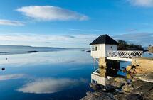 Utsikt utover Oslofjorden fra Bærum