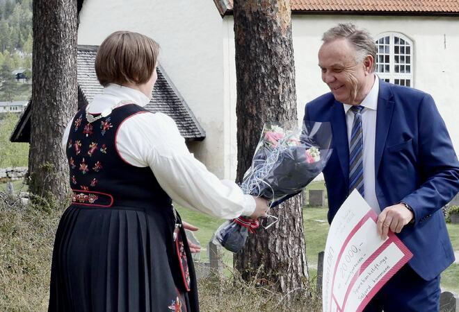 Tellef Solås - vinnar av kulturprisen 2020