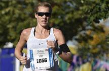 NM-sølv: Silje Eklund løp inn til andreplass i Oslo Maraton i 2018. Etter det har hun løpt enda fortere. (Foto: Bjørn Johannessen)