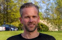 Sjur Breistein er en triatlet som ikke har problemer med å trene mye i tider med hjemmekontor. (Foto: Arne Dag Myking)