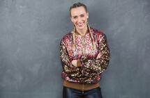 TV2-programleder Katarina Flatland Dobloug har noen faste løperunder hun elsker å sette rekord i. (Foto: Øyvind Ganesh Eknes / TV2)