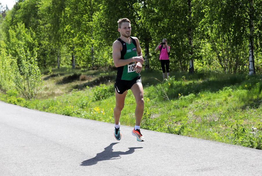 Eivind Øygard fra Jølster ble nummer fire.