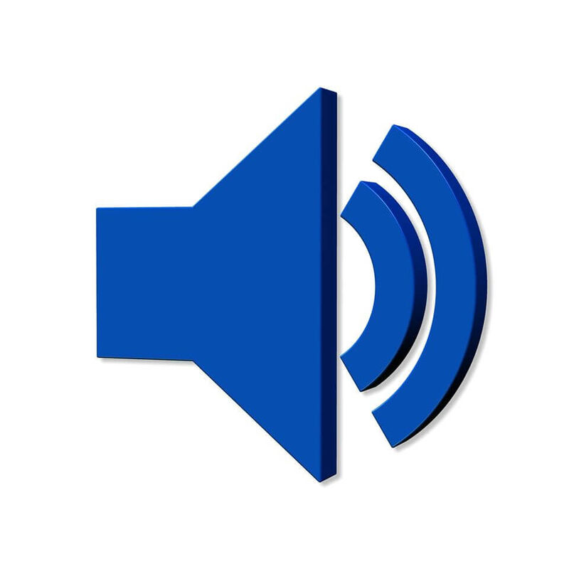 Illustrasjonsbilde av en megafon