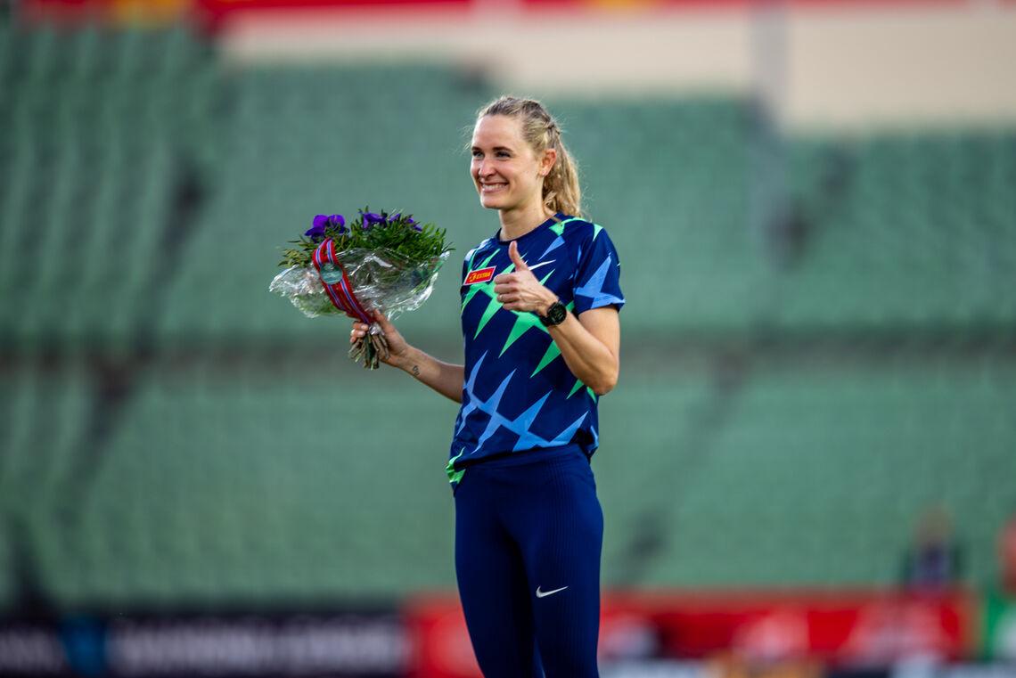 Hedde Hynne kunne tirsdag kveld omsider notere seg som norsk rekordholder på 800 m. (Arkivfoto: Samuel Hafsahl)