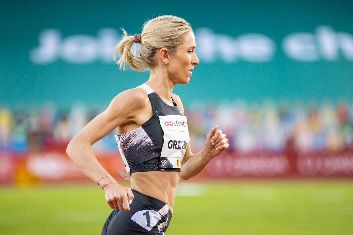 Karoline Bjerkeli Grøvdal vil forsøke å slå Susanne Wigenes norske 5 km-rekord. (Foto: Sylvain Cavatz)