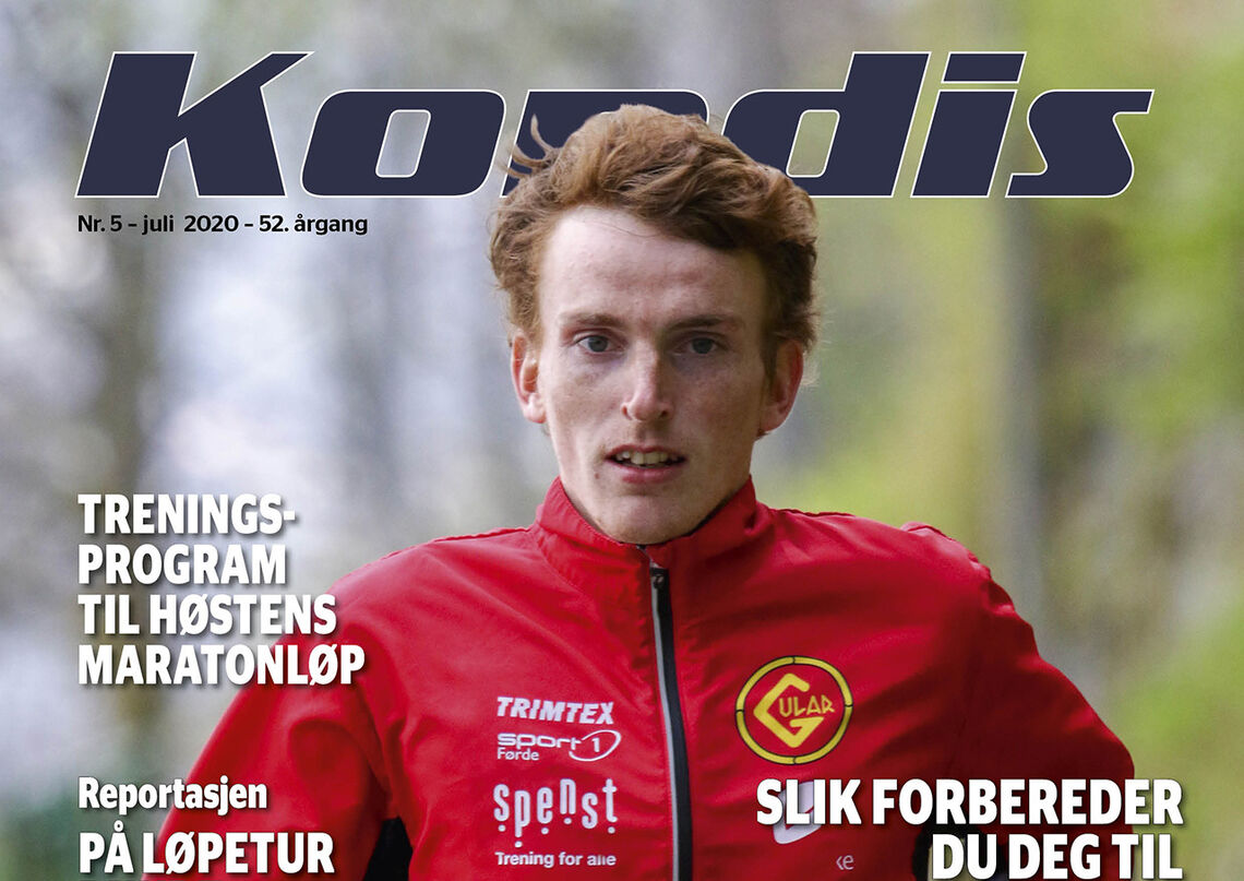 I sommernummeret av Kondis blir vi kjent med en av de virkelig hardtarbeidende i norsk langdistanseløping, Marius Vedvik. (Foto: Arne Dag Myking)