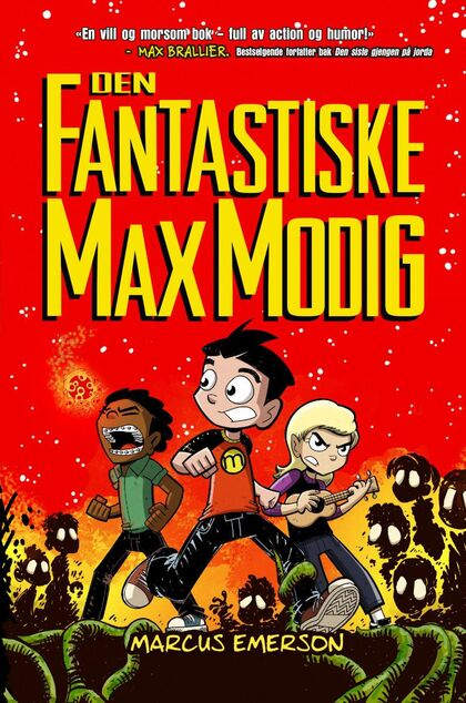 Den fantastiske Max Modig boktips for barn  9-13 år sommeren 2020 Rakkestad bibliotek