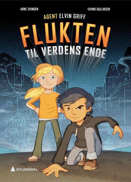 Flukten til verdens ende boktips for barn  9-13 år sommeren 2020 Rakkestad bibliotek