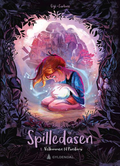 Velkommen til Pandoria - Spilledåseserien - boktips for barn  9-13 år sommeren 2020 Rakkestad bibliotek