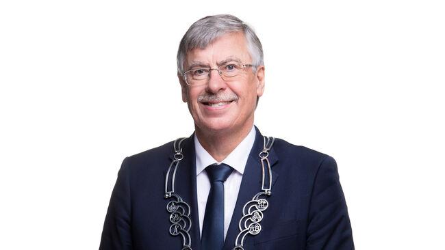 Ordfører Oddbjørn Bang