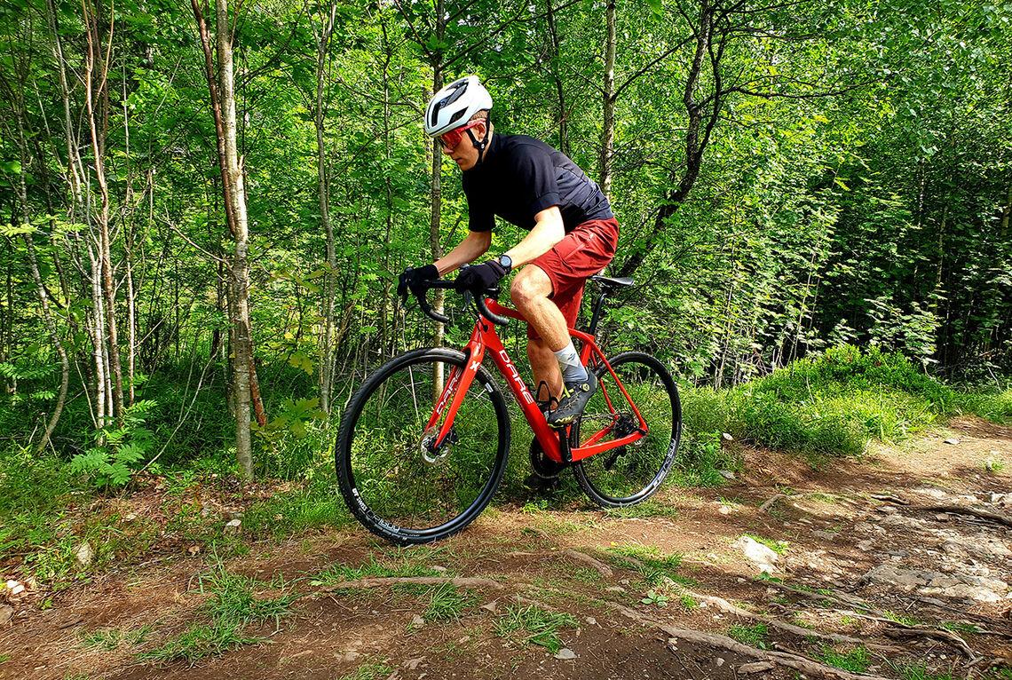 En grussykkel er svært allsidig og gir muligheter for å sykle nesten hvor som helst. (Foto: Privat)