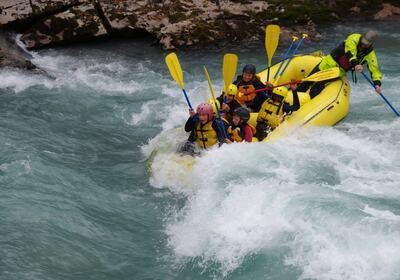 Rafting i elv